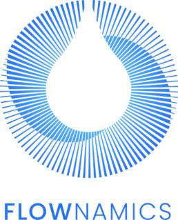 Flownamics corporate logo image.
