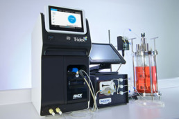 Picture of the Tridex Protein Analyzer for flownamics product integrations page.