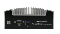 Image of the FlowWeb OPC Controller front panel.